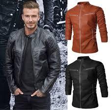 26e9cc09671 Осенние Мужские Кожаные Куртки Фото